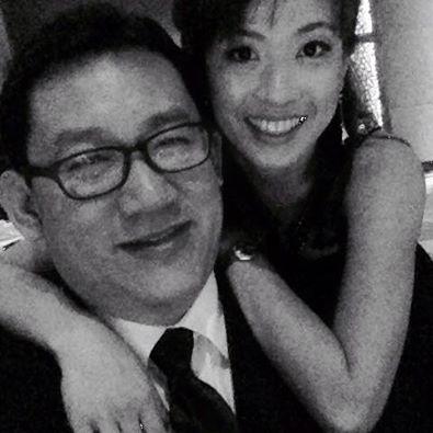 Simon Yap and wife