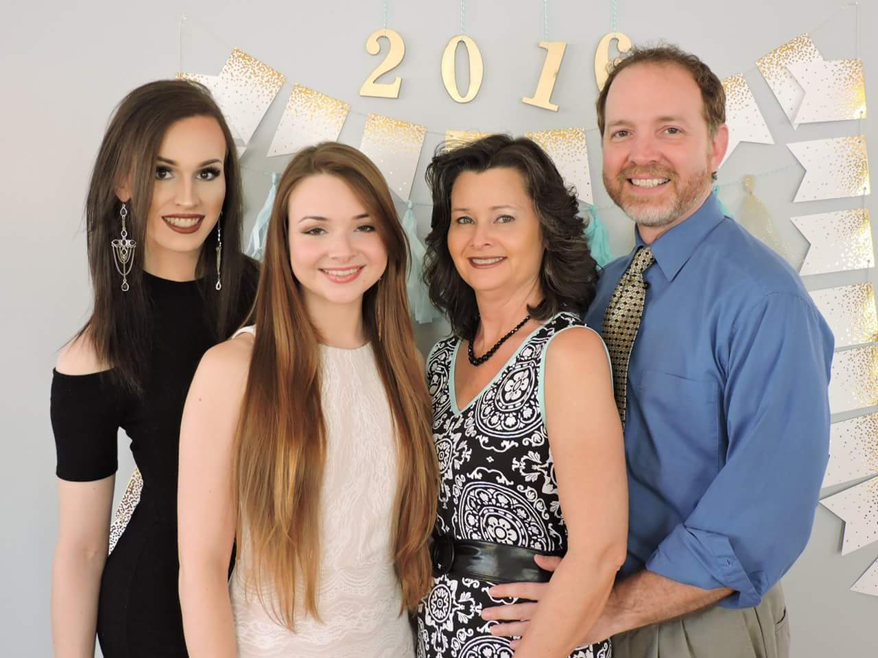 Pastor Chuck Crisco and family