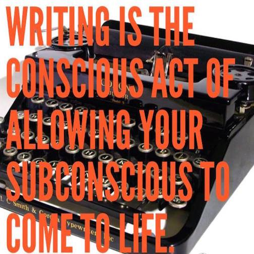 Writing needs the Subconscious